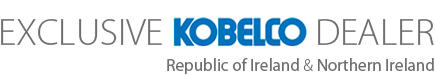 Exclusive Kobelco Dealer, Republic of Ireland & Northern Ireland