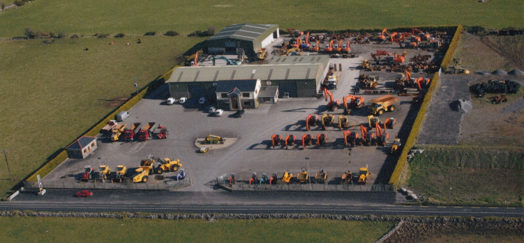 Aerial Photo of McSharry Bros taken in March 2011.