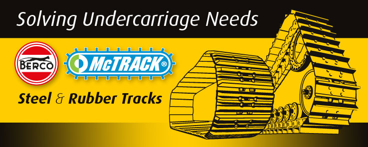 McSharry TRACK is the new name of our undercarriage division.