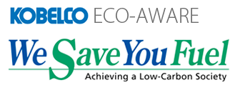 Kobelco Eco-Aware - We Save You Fuel